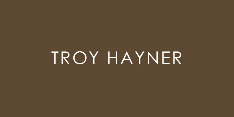 Troy Hayner